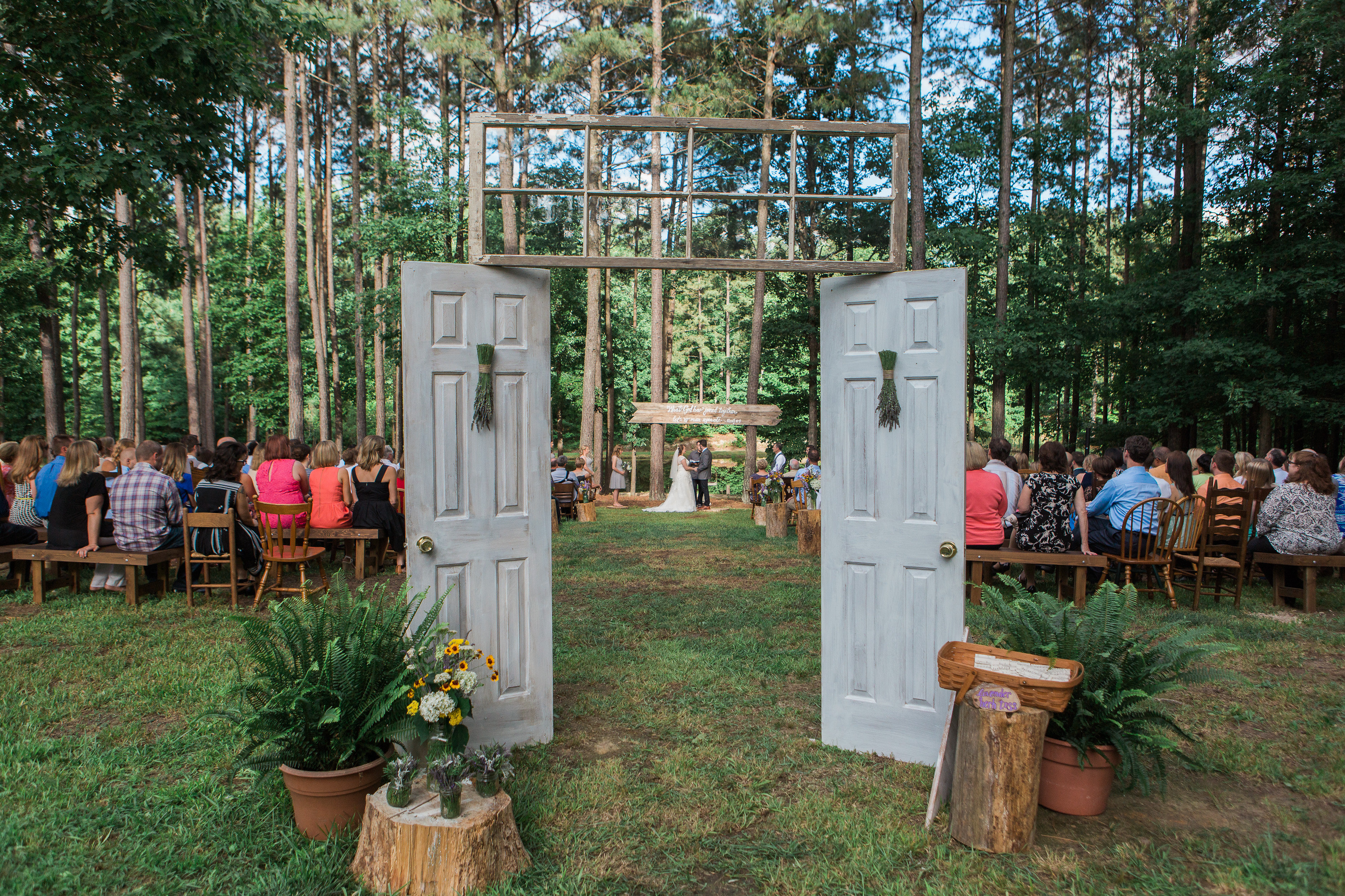 Hobnob Occasions Ceremony Doors