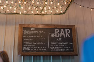 The Chandelier over the Bar Sign Photo credit - Libby McGowan Photography