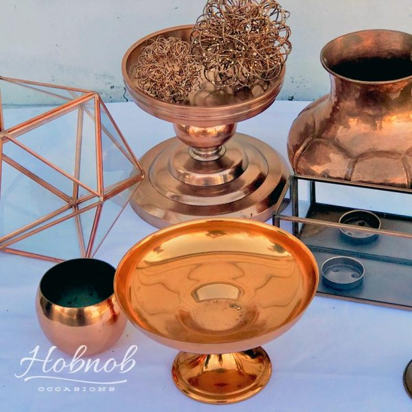 Hobnob Occasions Copper Decorative Pieces