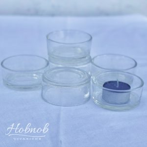 Hobnob Occasions Glass Tealight Holders