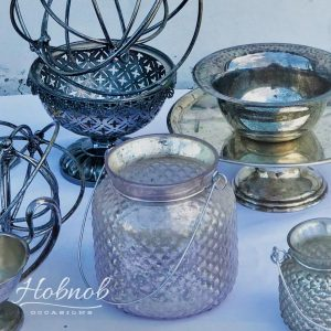 Hobnob Occasions Silver Decorative Pieces