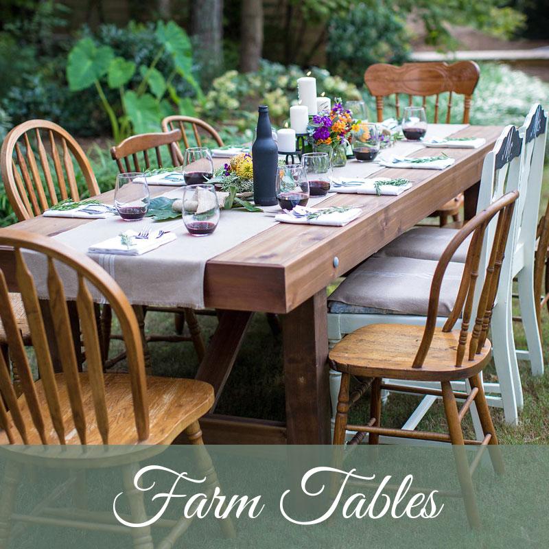 Hobnob Farm Tables