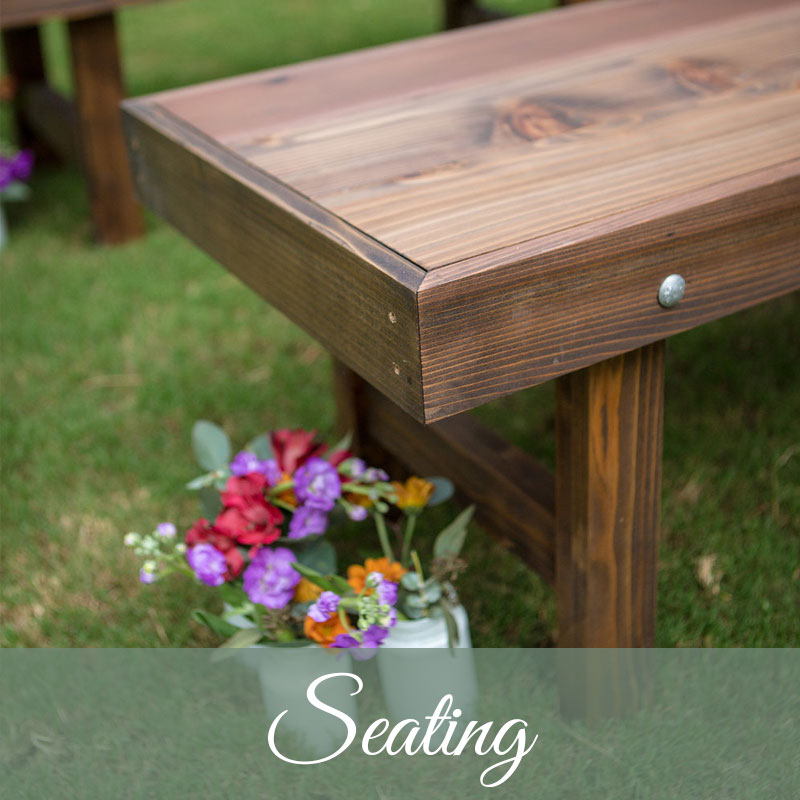 Hobnob Wedding Seating